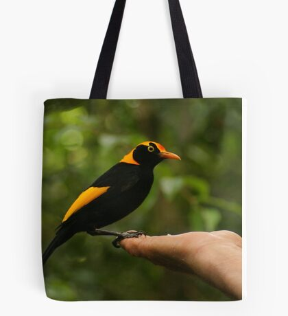 A Regent Bowerbird in the hand is worth two or more photos Tote Bag