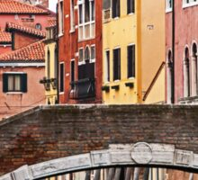 Canal scene Sticker