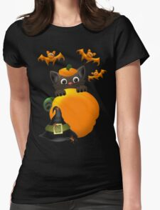 The Witches Cat  T-Shirt