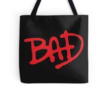 Bad- Michael Jackson Tote Bag