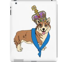 British Corgi Queen iPad Case/Skin