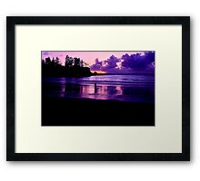 PURPLE PASSION... Framed Print