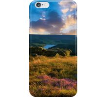 Dovestone sunset iPhone Case/Skin