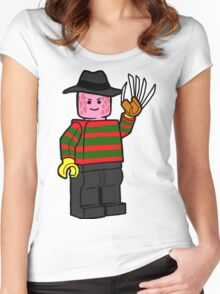 Horror Toys - Freddy Women's Fitted Scoop T-Shirt