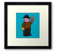 Horror Toys - Freddy Framed Print