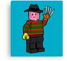 Horror Toys - Freddy Canvas Print