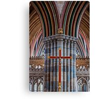 Exeter Cathedral (2) Canvas Print