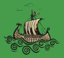 Viking ship Kids Clothes