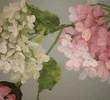 Multi Hydrangea by Cathy Amendola