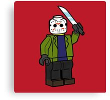 Horror Toys - Jason Canvas Print
