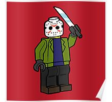 Horror Toys - Jason Poster