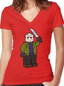 Horror Toys - Jason Women's Fitted V-Neck T-Shirt