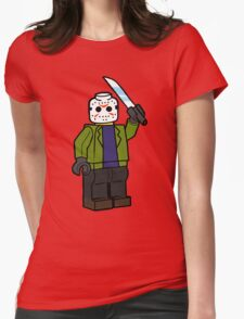 Horror Toys - Jason Womens Fitted T-Shirt