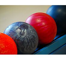 Bowling Balls Photographic Print