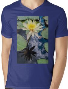 Water Lily (2) Mens V-Neck T-Shirt