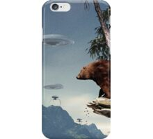 Do Aliens Get Grizzly? iPhone Case/Skin