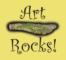 Art Rocks #3 Kids Tee