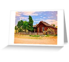 Part Of A Ghost Town History Greeting Card