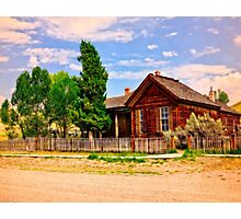 Part Of A Ghost Town History Photographic Print