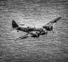 Bristol Blenheim, Black and White by Nigel Bangert