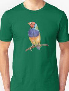 Bright gouldian finch bird T-Shirt