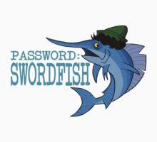 Password: Swordfish!  Kids Tee