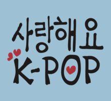 SARANG HAEYO K-POP Kids Tee