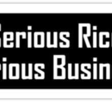 Serious Rice Serious Business Sticker