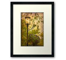 Vintage Lamp Framed Print