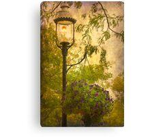 Vintage Lamp Canvas Print