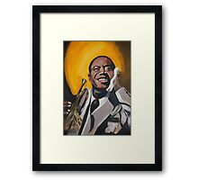 A Young Louis Armstrong Framed Print