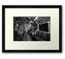 The Lone Commuter Framed Print