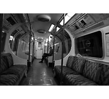 The Lone Commuter Photographic Print