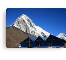 Himalaya roofs Canvas Print