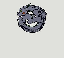 Circular Dragon- textured Unisex T-Shirt