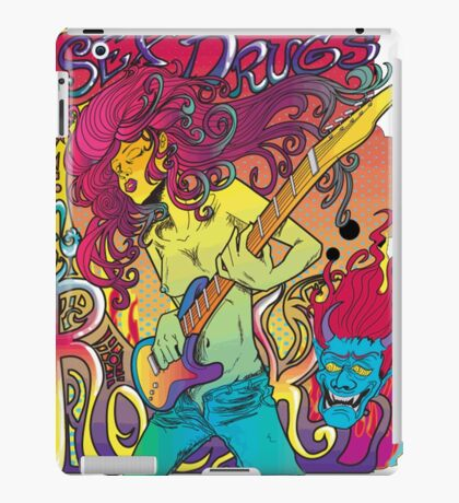 Sex Drugs Rock iPad Case/Skin