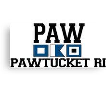 Pawtucket - Rhode Island. Canvas Print