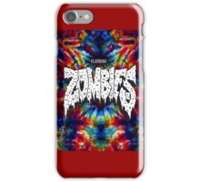FBZ Red & Blue Tie dye background iPhone Case/Skin