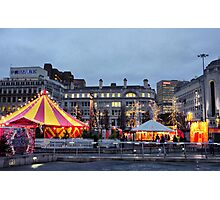 Manchesters Magical Christmas Campaign  Photographic Print