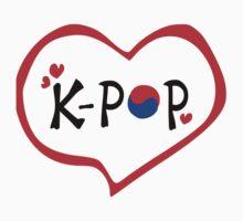 LOVE K-POP MUSIC Kids Tee
