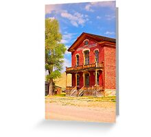 Historic Hotel Meade Greeting Card