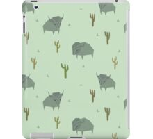 Bison Pattern Pistachio iPad Case/Skin