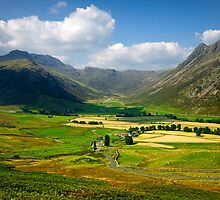 The Langdales by Brian Kerr