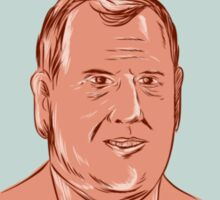 Chris Christie President 2016 Oval Sticker