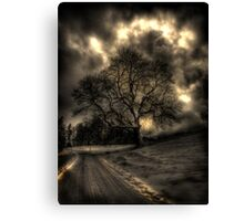 My Favourite Tree - The Haunting Canvas Print