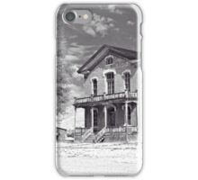 Historic Hotel Meade - Black and White iPhone Case/Skin
