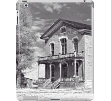 Historic Hotel Meade - Black and White iPad Case/Skin