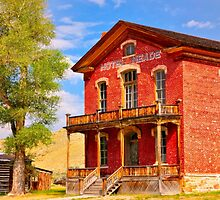 Bannack Hotel Meade by IMAGETAKERS