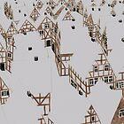 Winterliche Stadt by Ronja