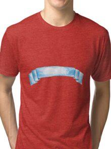 Watercolor ribbon Tri-blend T-Shirt